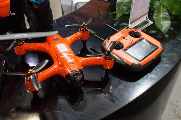 Die Agile-Drohne ... (Foto: Martin Wolf/Golem.de)