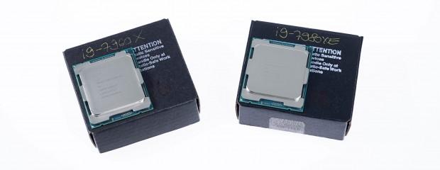 Intels QS des 7980XE und 7960XE (Foto: Michael Wieczorek/Golem.de)