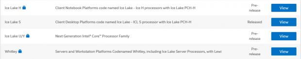 Ice Lake für alle Marktsegmente (Bild: Intel)