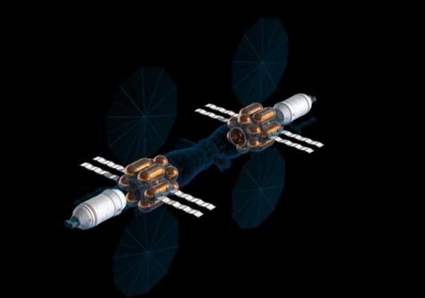 Versorgungsmodule sind zweifach vorhanden. (Bild: Lockheed Martin / Screenshot: Golem.de)