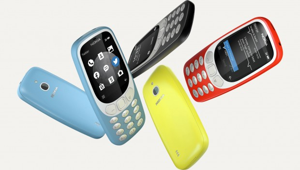 Das neue Nokia 3310 3G (Bild: HMD Global)