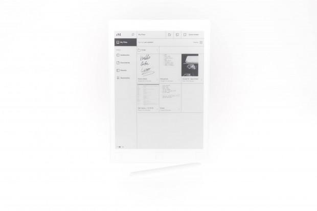 Das Remarkable Tablet hat einen 10,3 Zoll großen E-Paper-Bildschirm. (Bild: Martin Wolf/Golem.de)