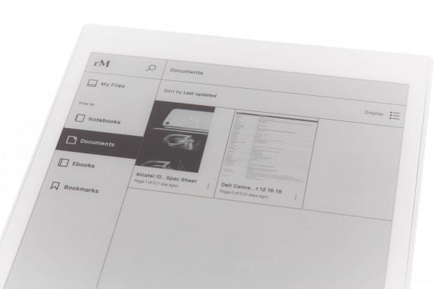 Das Remarkable Tablet kann auch PDFs und E-Books anzeigen. (Bild: Martin Wolf/Golem.de)