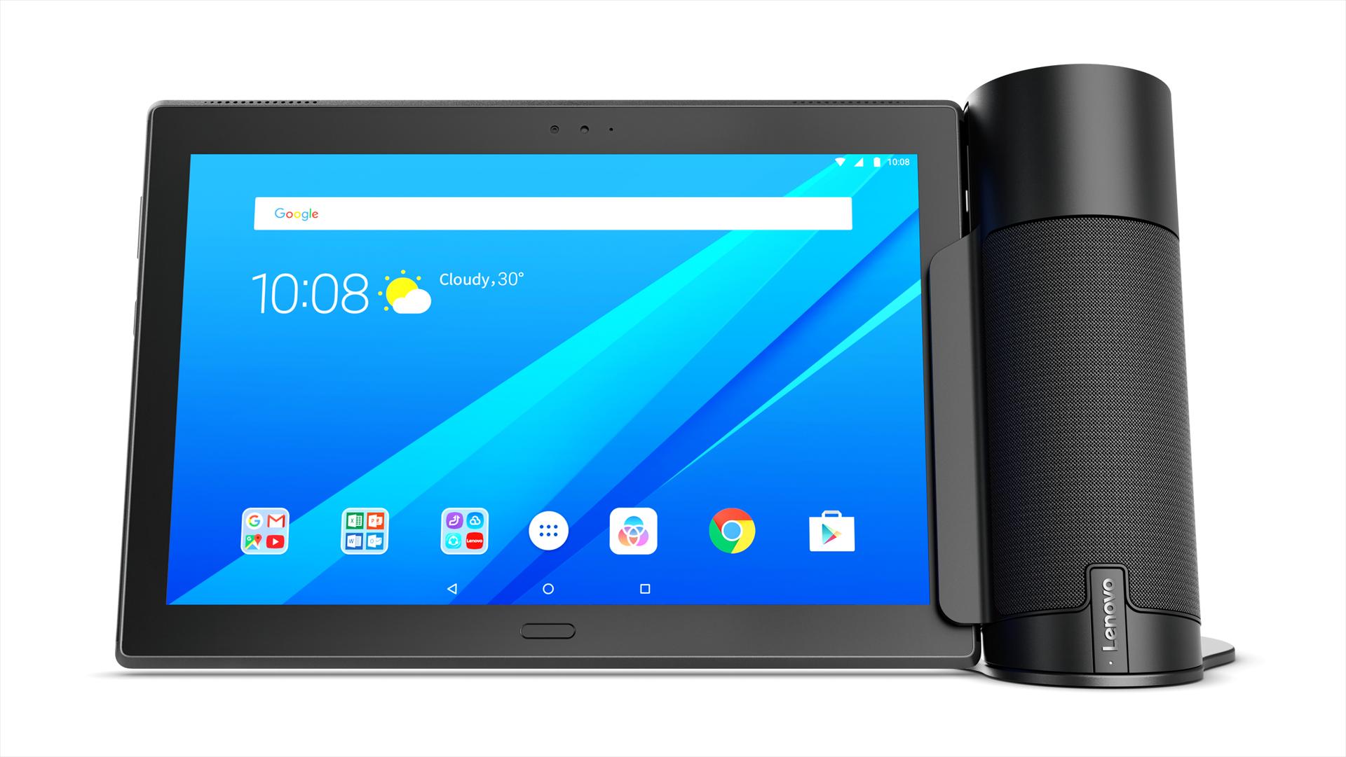 Alexa und Google Assistant: Der Wettkampf smarter Lautsprecher verändert sich - Home Assistant (Bild: Lenovo)