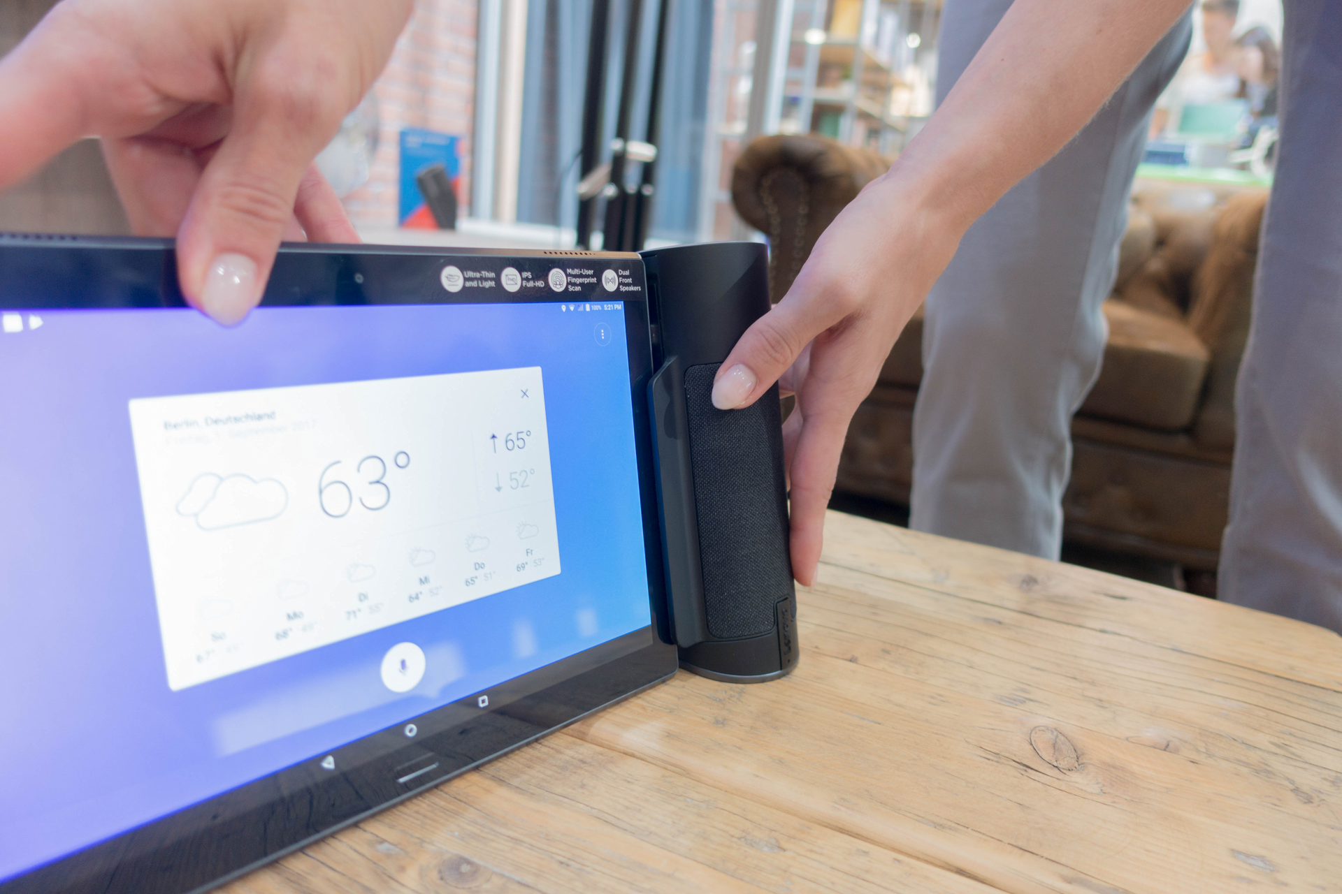 Alexa und Google Assistant: Der Wettkampf smarter Lautsprecher verändert sich - Home Assistant (Bild: Ingo Pakalski/Golem.de)