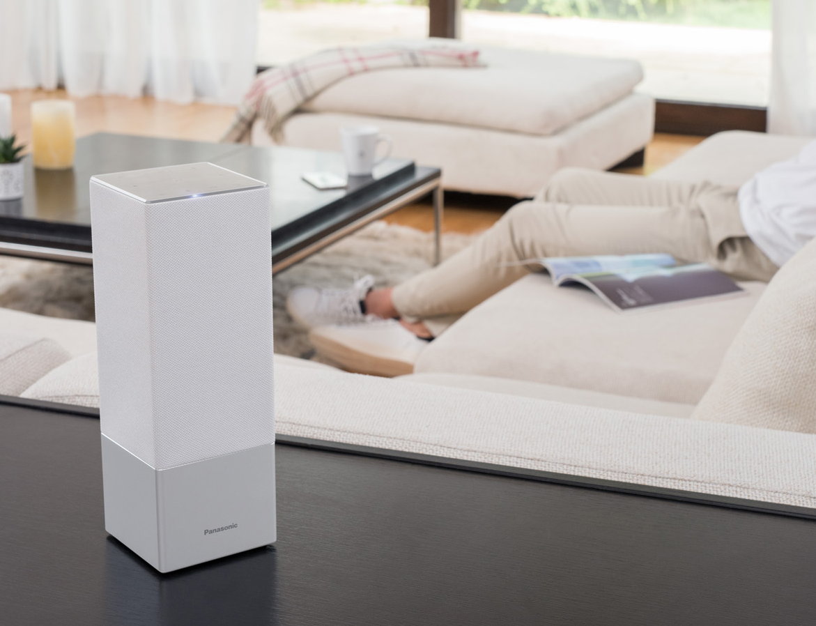 Alexa und Google Assistant: Der Wettkampf smarter Lautsprecher verändert sich - Panasonic GA10 (Bild: Panasonic)