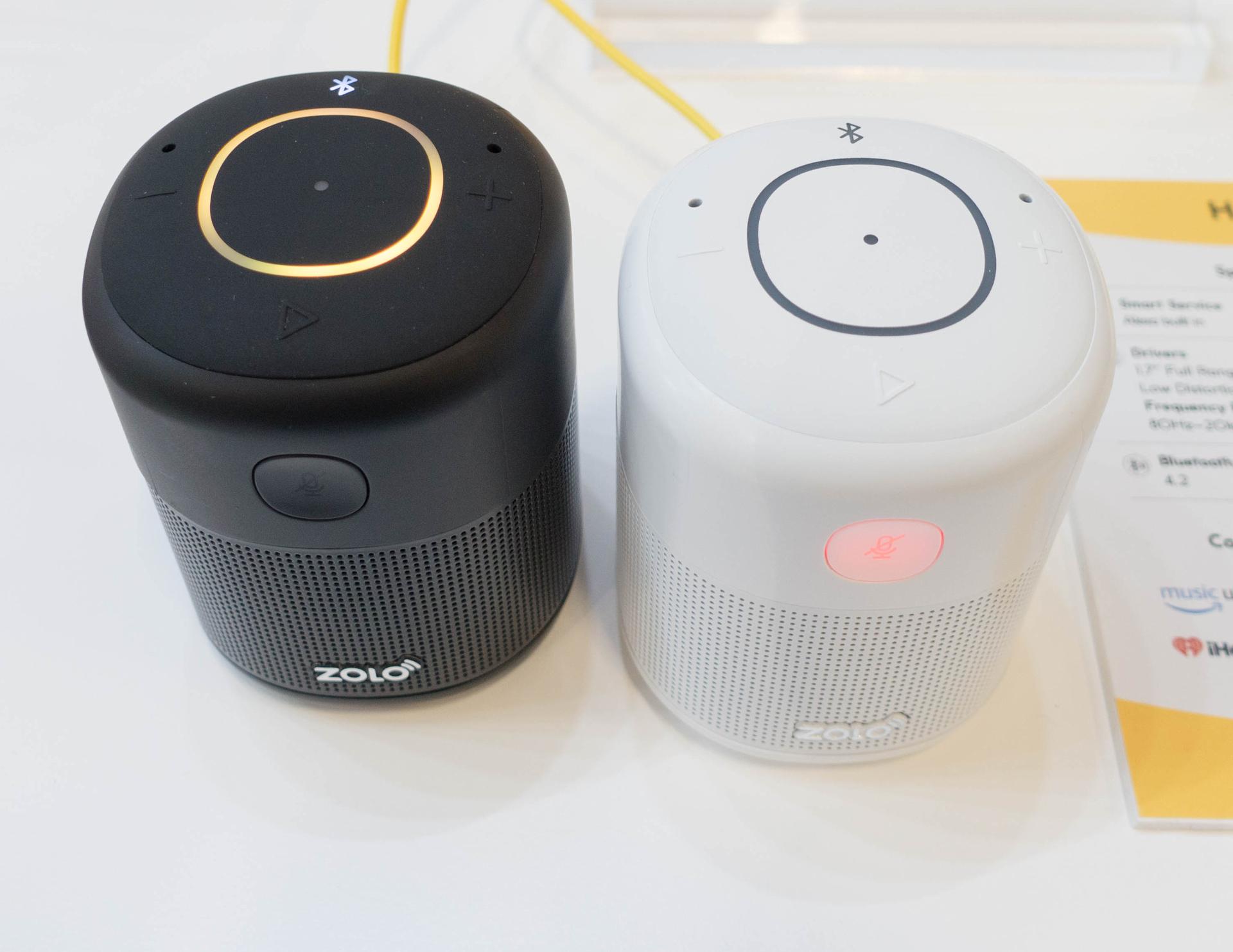 Alexa und Google Assistant: Der Wettkampf smarter Lautsprecher verändert sich - Zolo Halo (Bild: Ingo Pakalski/Golem.de)