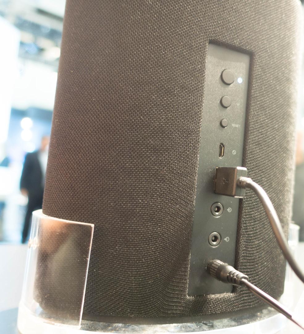 Alexa und Google Assistant: Der Wettkampf smarter Lautsprecher verändert sich - Onkyo P3 (Bild: Ingo Pakalski/Golem.de)