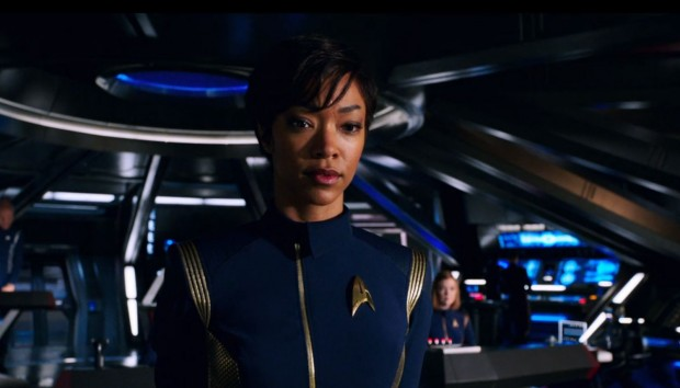 Sonequa Martin-Green als Michael Burnham (Bild: Screenshot/CBS)