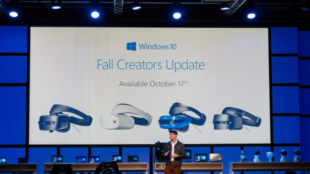 Windows Mixed Reality benötigt das Fall Creators Update. (Foto: Marc Sauter/Golem.de)