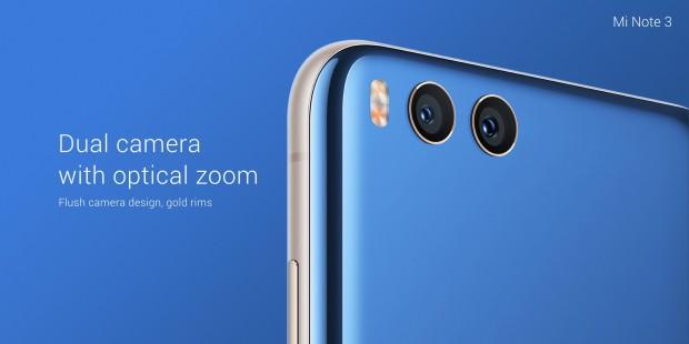 Das neue Mi Note 3 von Xiaomi (Bild: Xiaomi)