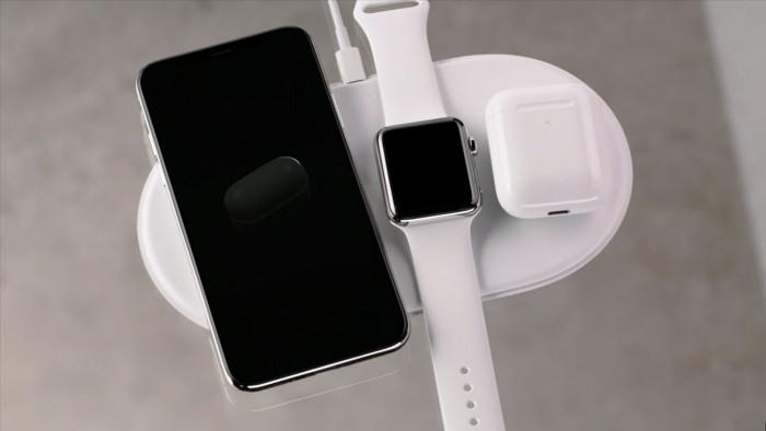 noch kein standard propriet re airpower matte f r mehrere apple ger te. Black Bedroom Furniture Sets. Home Design Ideas