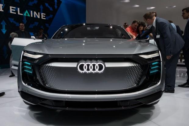 Elaine: Audis Konzeptauto für das vollautomatisierte Fahren. (Foto: Werner Pluta/Golem.de)