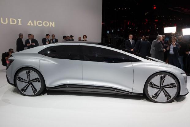 Aicon ist Audis Vision für das fahrerlose Fahren. (Foto: Werner Pluta/Golem.de)