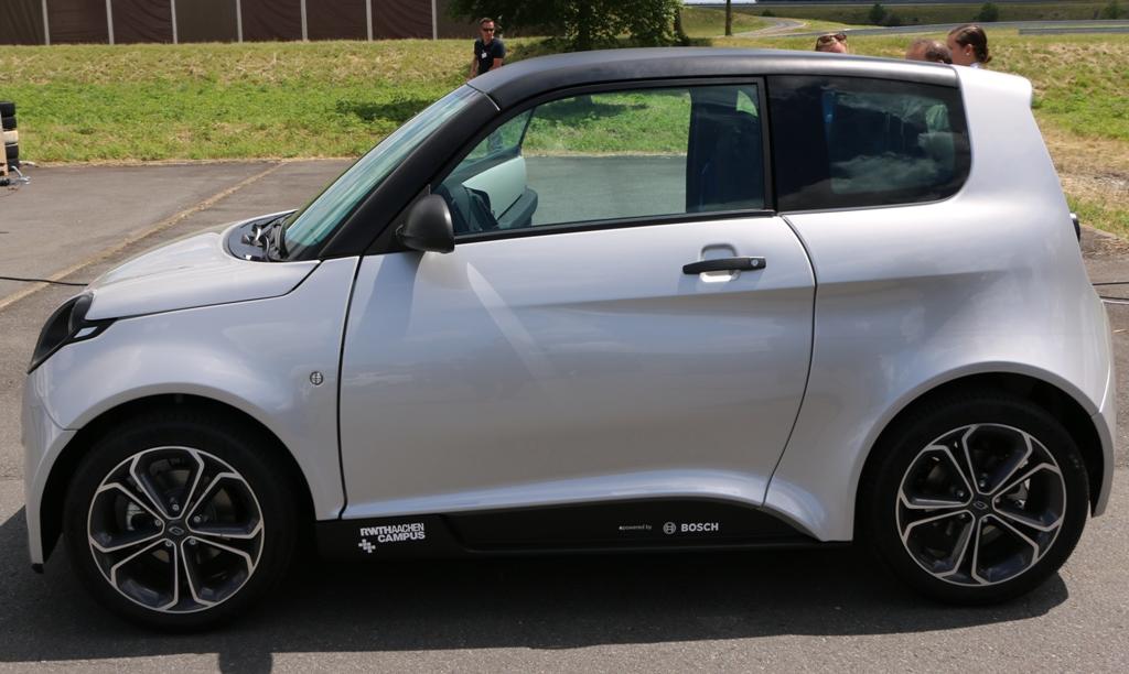 Drei Modelle vorgestellt: Elektrokleinwagen e.Go erhöht die Spannung -