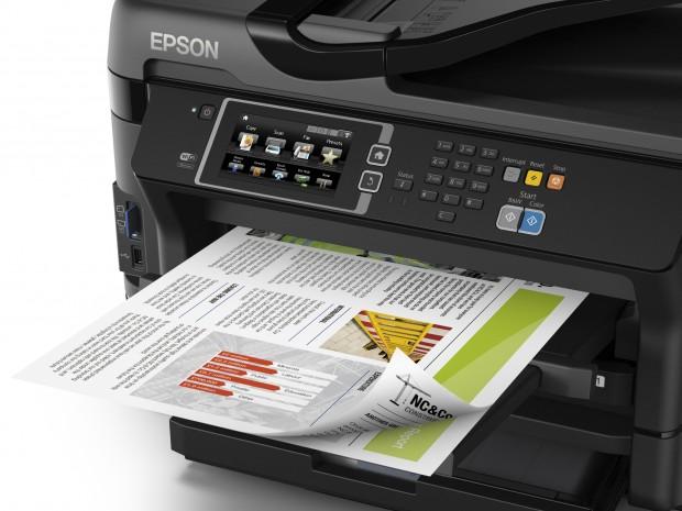 Der Drucker kann bis zu A3+ drucken. (Bild: Epson)