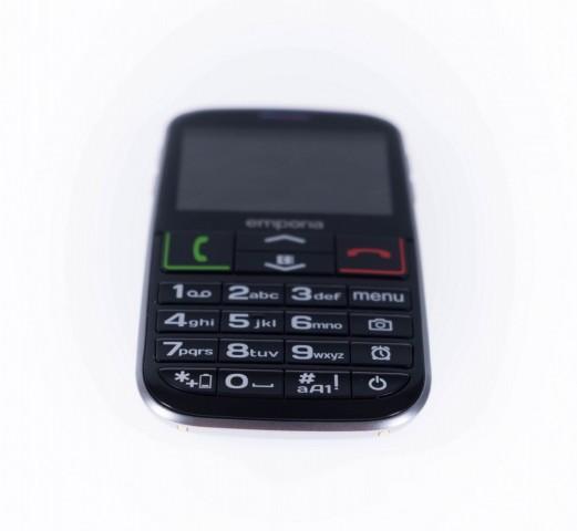 Das Euphoria 3G hat großzügig dimensionierte Tasten. (Bild: Michael Wieczorek/Golem.de)