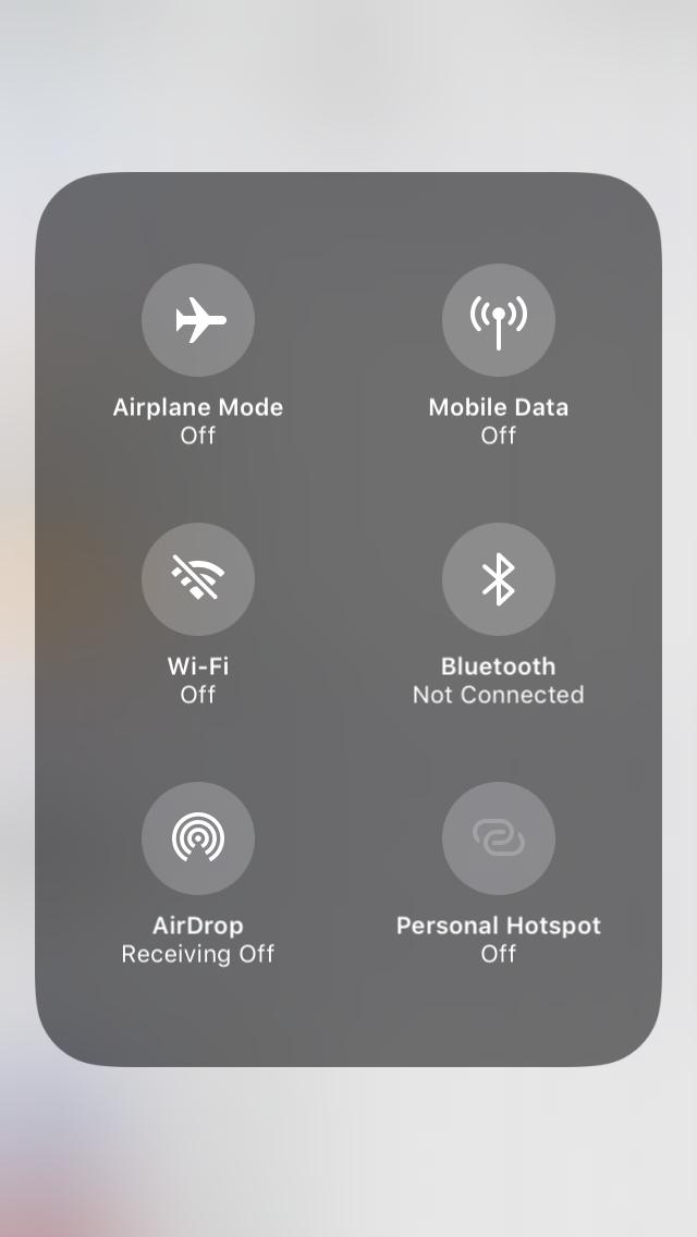 Apple iOS 11: Wer WLAN und Bluetooth abschaltet, benutzt es weiter -