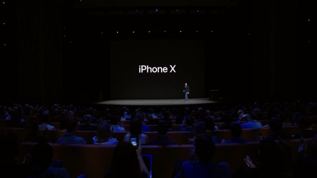 Das neue iPhone X (Bild: Apple/Screenshot: Golem.de)