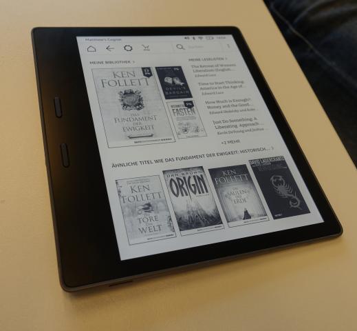 Neuer Kindle Oasis (Bild: Ingo Pakalski/Golem.de)
