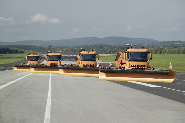 Automated Airfield Ground Maintenance (Bild: Daimler)
