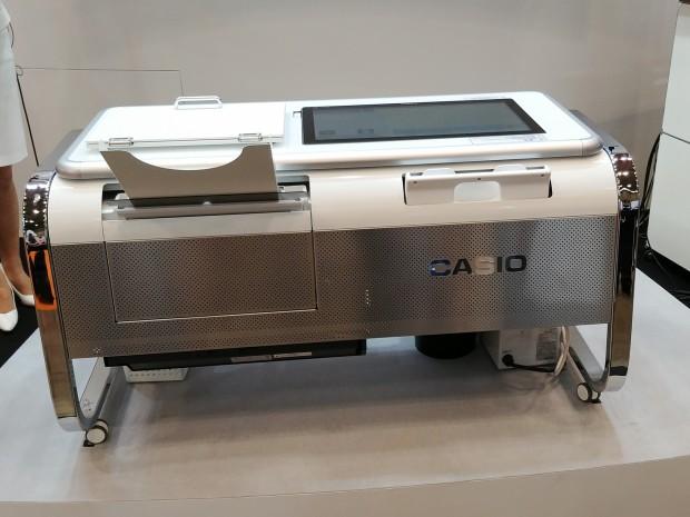 Der Mofrel-Drucker von Casio (Bild: Tobias Költzsch/Golem.de)