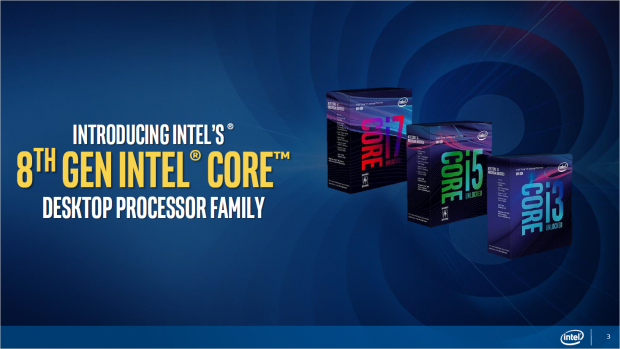 8th Gen alias Coffee Lake (Bild: Intel)