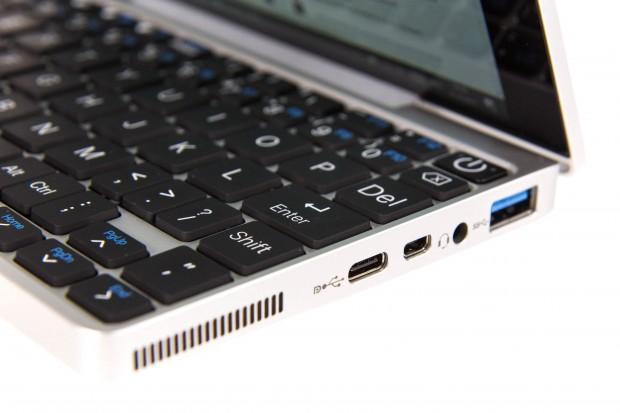 Die Tastatur des GPD Pocket (Bild: Martin Wolf/Golem.de)