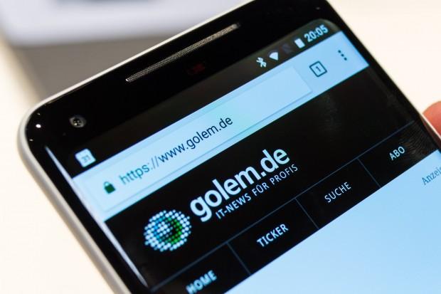 Googles Pixel 2 XL (Bild: Martin Wolf/Golem.de)