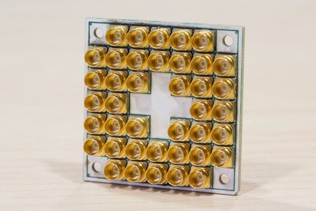 17-Qubit-Testchip (Foto: Intel)