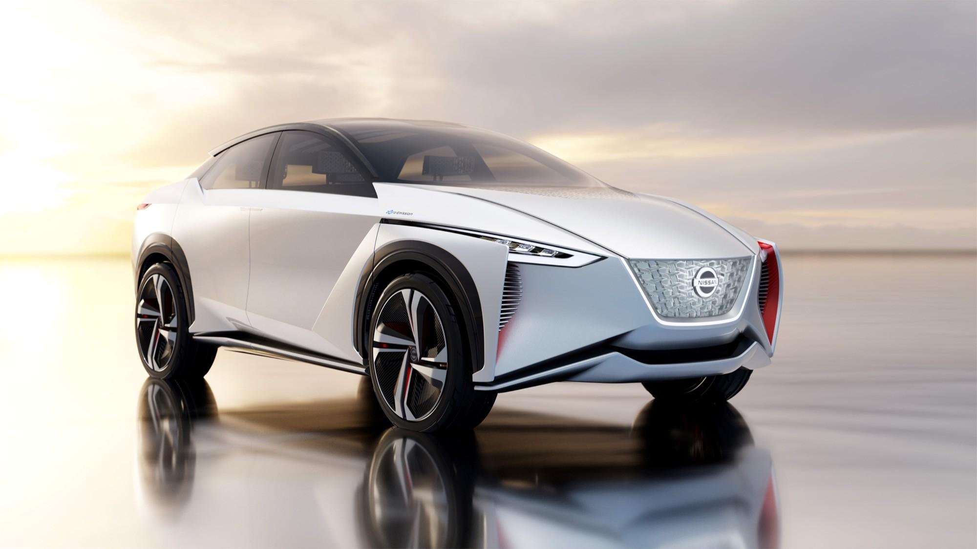 IMx Concept: Nissans Elektroauto ist drehmomentstärker als der GT-R - Nissan IMx Concept (Bild: Nissan)