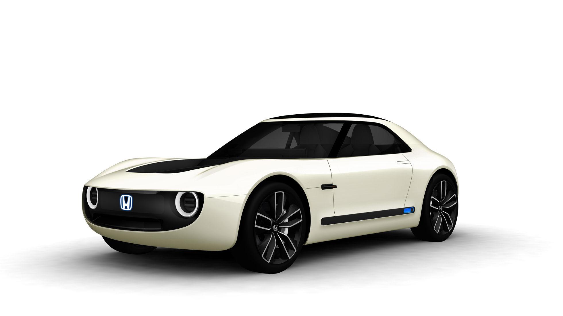 Sports EV Concept: Honda stellt einen Elektrosportwagen vor - Das Auto hat Elemente aus Autos der 1970er-Jahre. (Bild: Honda)