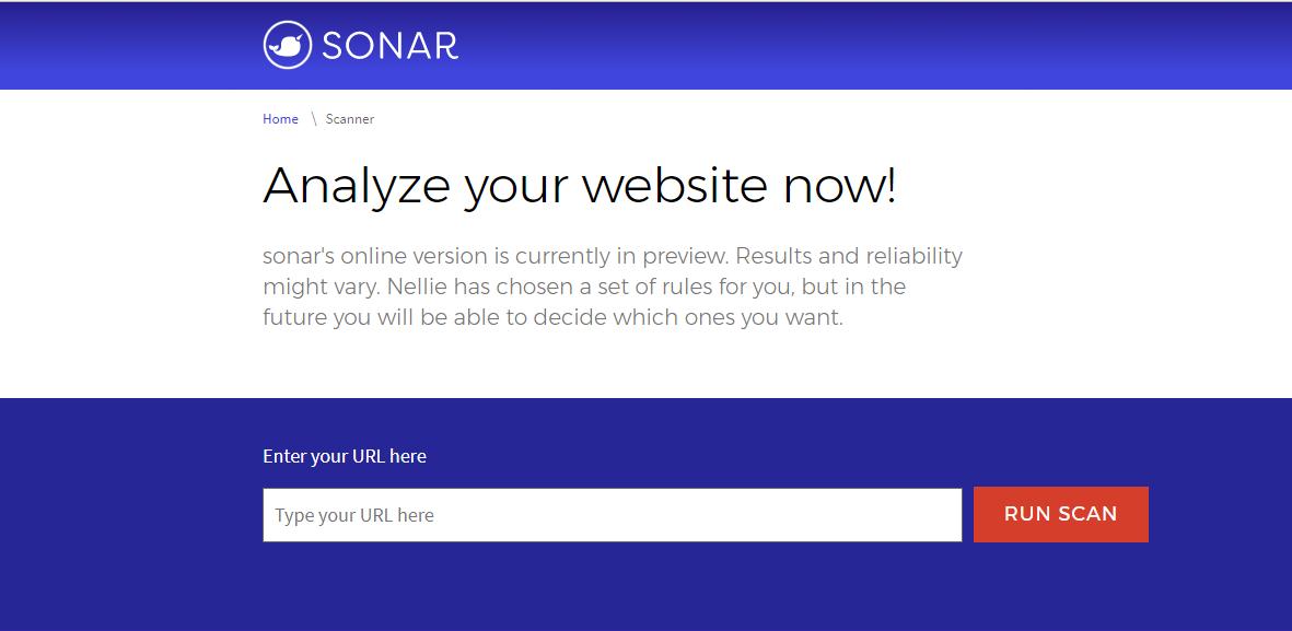 Microsoft: Sonar überprüft kostenlos Webseiten auf Fehler -