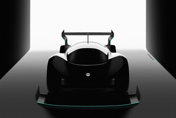 Silhouette des Elektro-Prototypen von VW (Bild: VW)