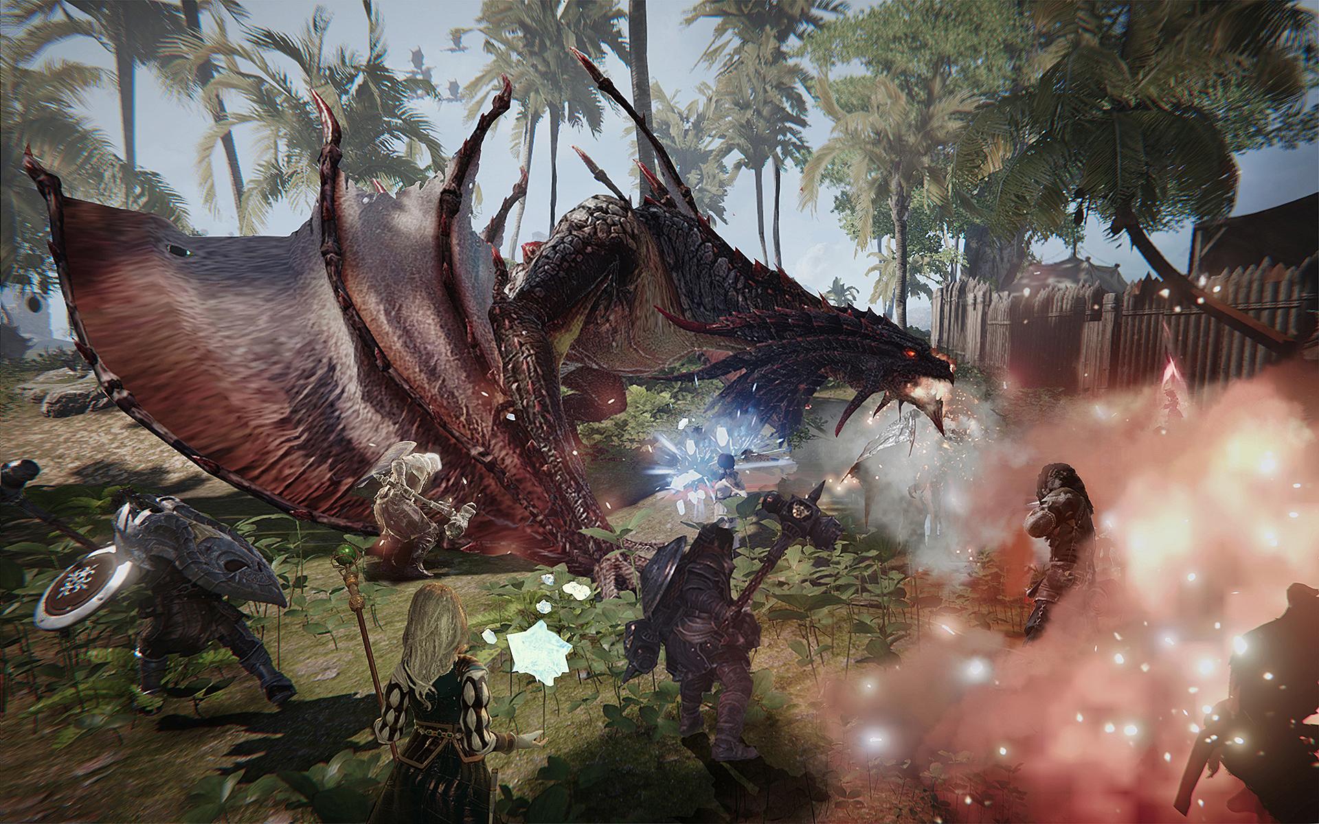 Ascent Infinite Realm: Pubg-Macher stellt luftiges Rollenspiel vor - Ascent Infinite Realm (Air) (Bild: Kakao Games)