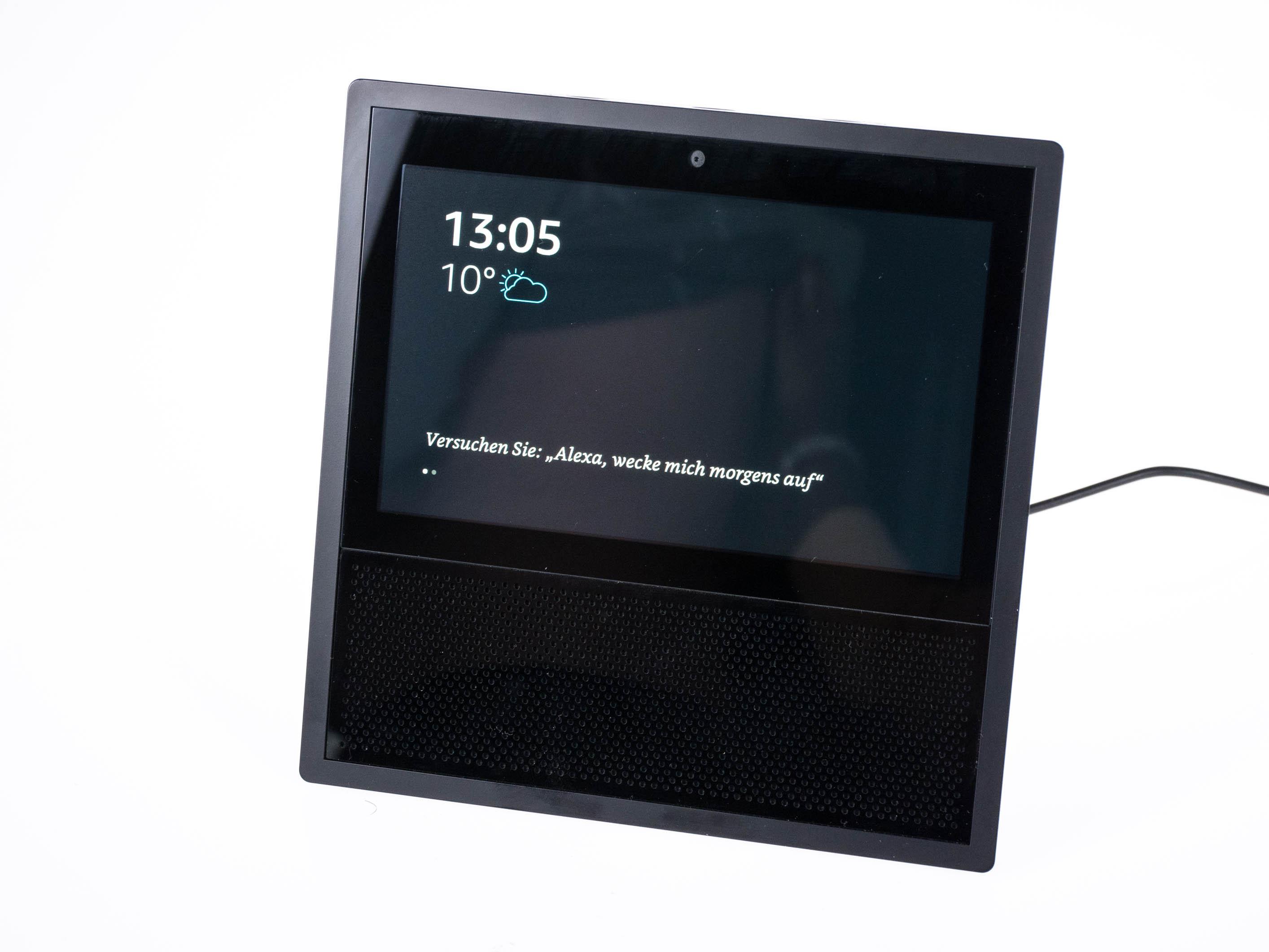 Echo Show vs. Fire HD 10 im Test: Alexa, zeig's mir! - Der Startbildschirm auf dem Echo Show (Bild: Martin Wolf/Golem.de)