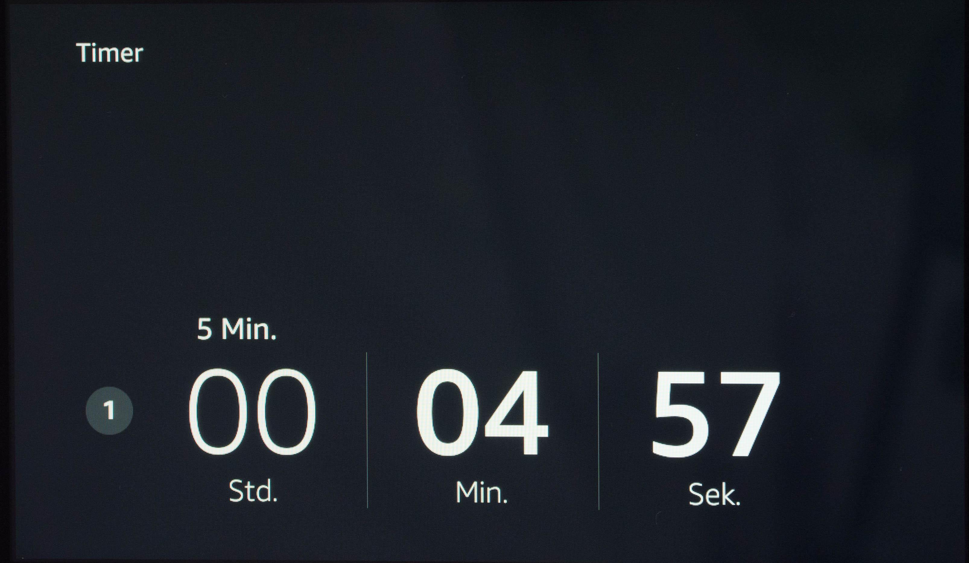 Echo Show vs. Fire HD 10 im Test: Alexa, zeig's mir! - Ein mit Alexa gestellter Timer (Bild: Martin Wolf/Golem.de)