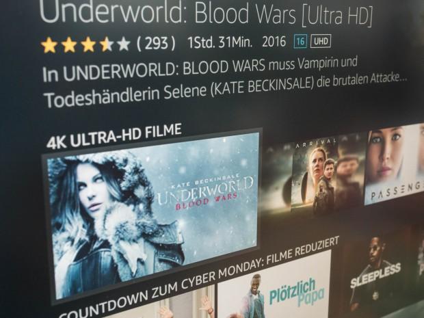 Fire TV 2017 unterstützt 4K und HDR. (Bild: Martin Wolf/Golem.de)