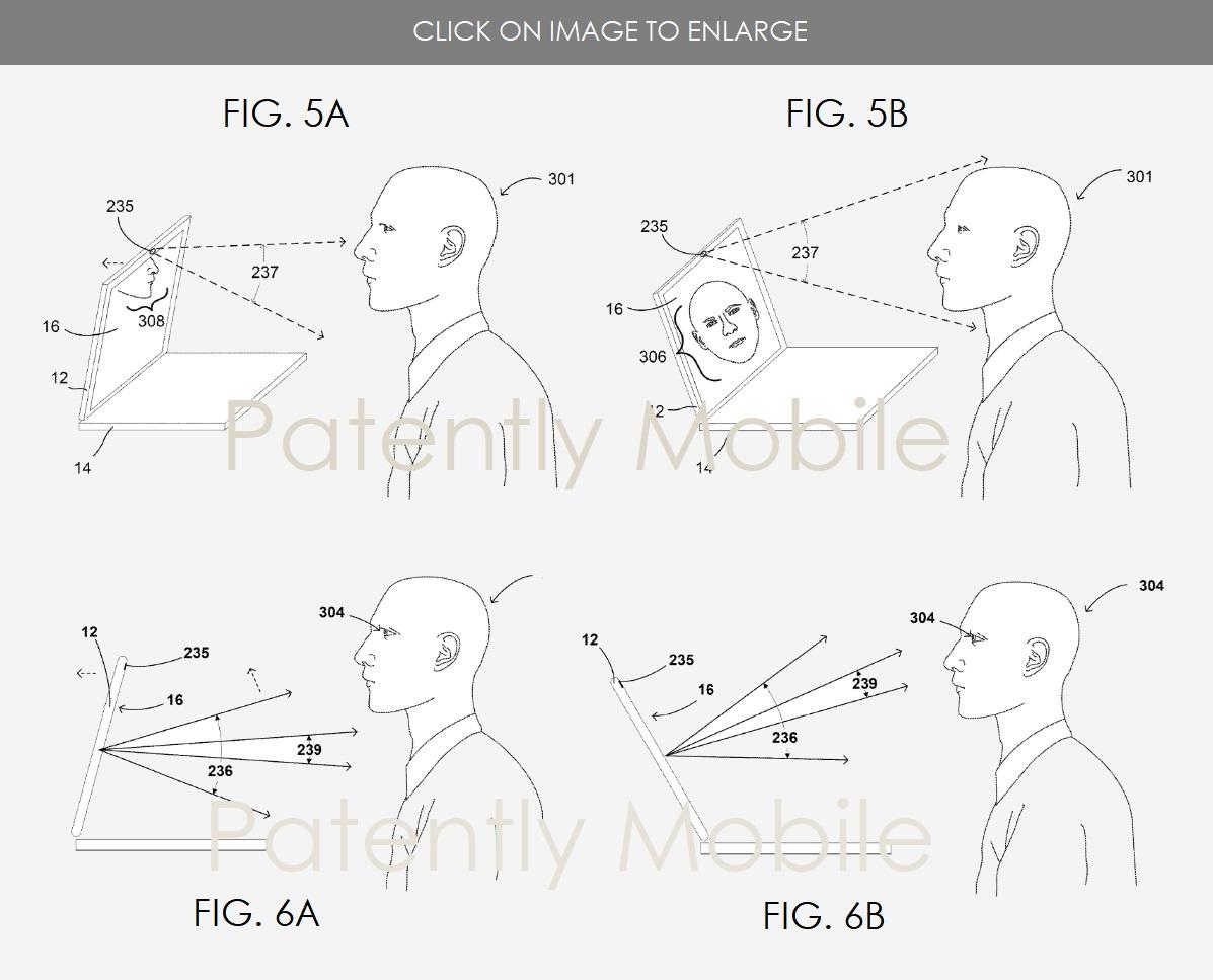 Google Chromebook: Patent zeigt automatisch öffnenden und anpassenden Deckel - Der Deckel passt sich automatisch der Sitzposition an.