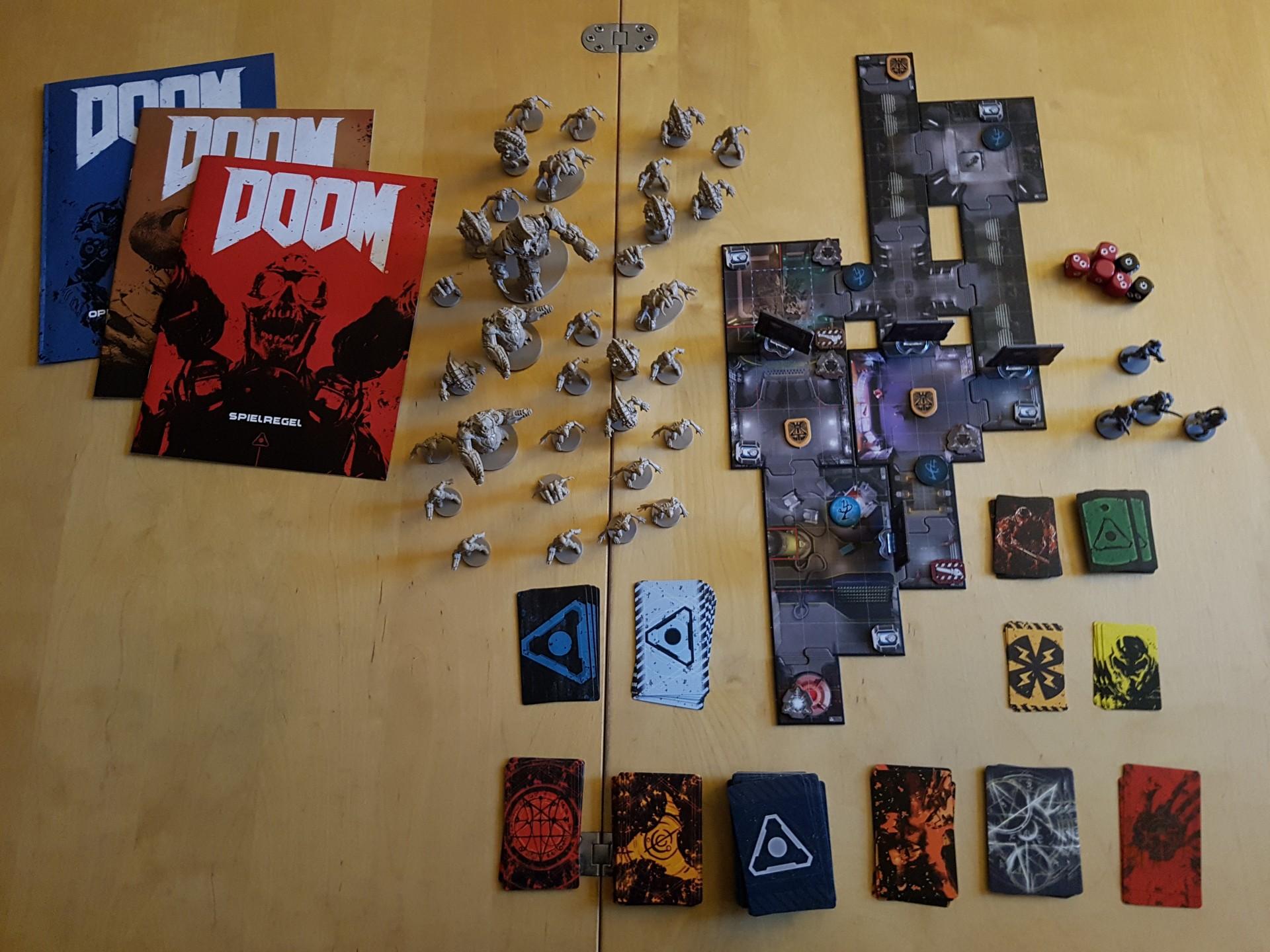 Doom-Brettspiel-Neuauflage im Test: Action am Wohnzimmertisch - Doom - Das Brettspiel (Foto: Achim Fehrenbach)