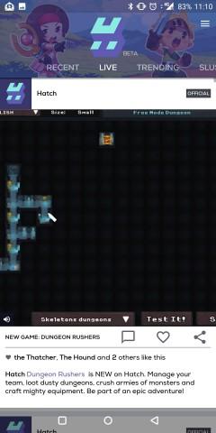 In der App werden die Videos und Aktivitäten der Freunde angezeigt. (Screenshot: Golem.de)