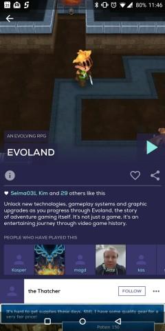 In der Übersicht der einzelnen Apps gibt es Informationen zum Spiel. (Screenshot: Golem.de)