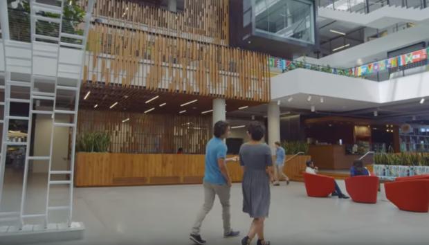 Microsofts neuer Campus in Redmond (Bild: Microsoft)