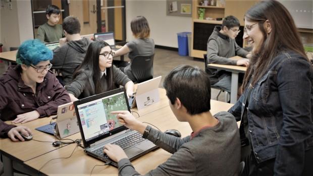Die Education Edition im Einsatz (Bild: Microsoft)