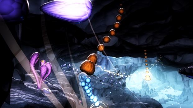 An diese Deckenstruktur kann sich Joy hängen, um mit Schwung einen Vorsprung zu erreichen. (Bild: Ubisoft / Screenshot: Golem.de)