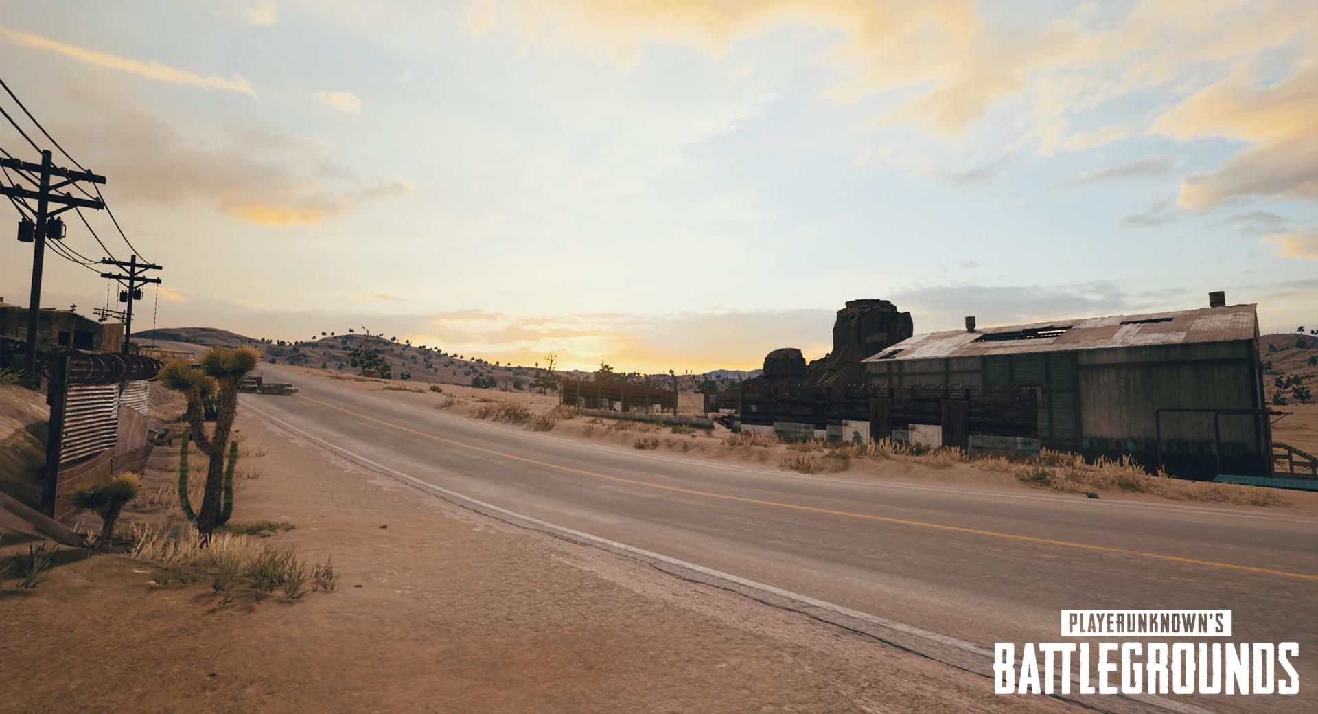 Bluehole: Neue Bilder aus der Pubg-Wüste -