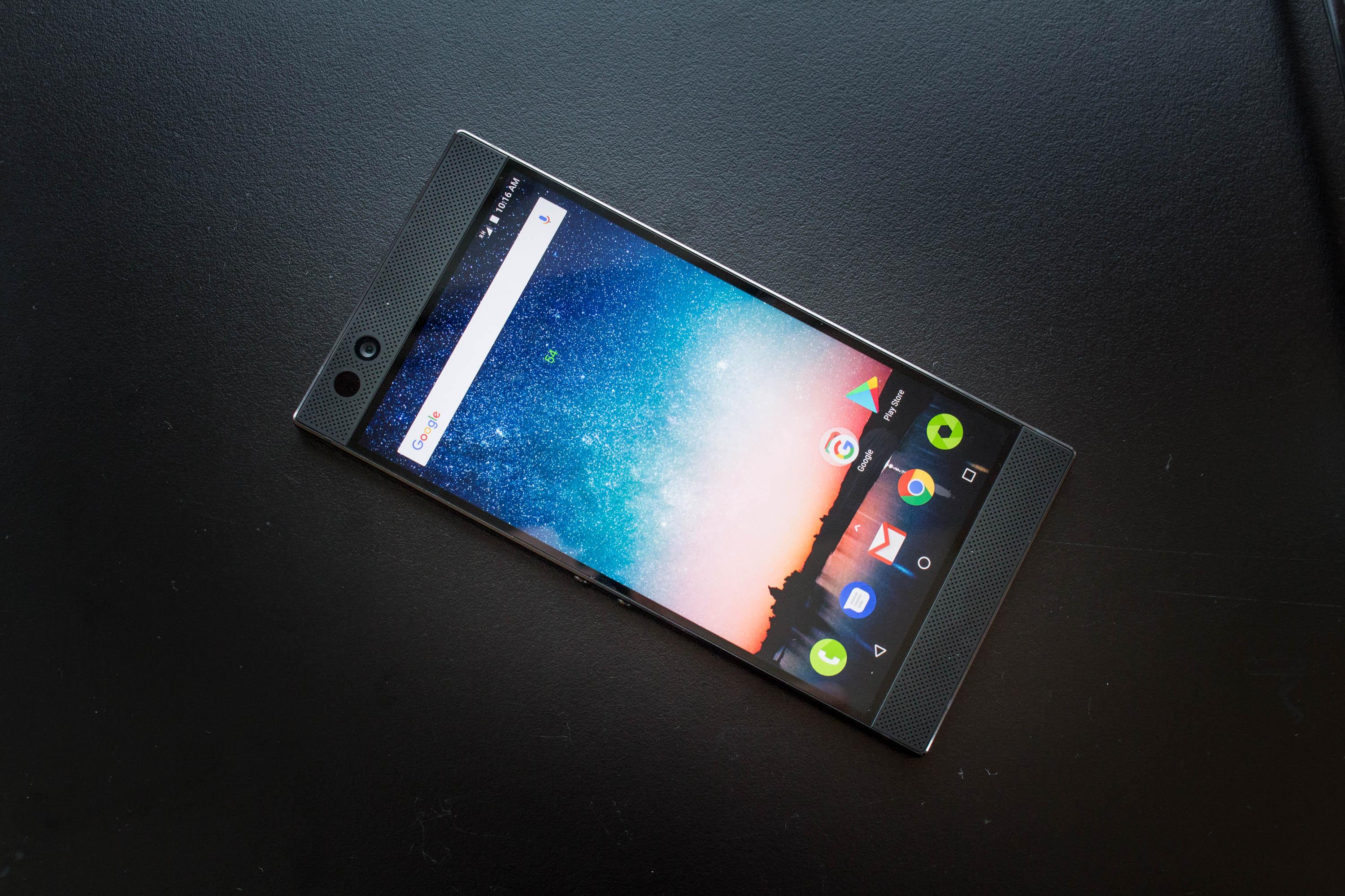 Razer Phone im Hands on: Razers 120-Hertz-Smartphone für Gamer kostet 750 Euro -