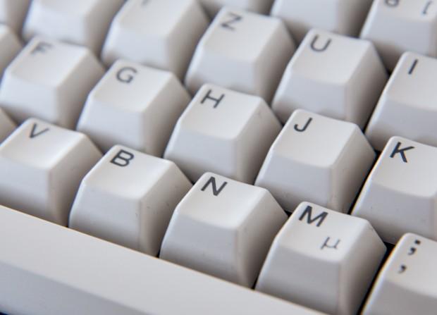 Olivettis ANK 27 hat angeschrägte Tastaturkappen und einen äußerst definierten Anschlag. (Bild: Martin Wolf/Golem.de)