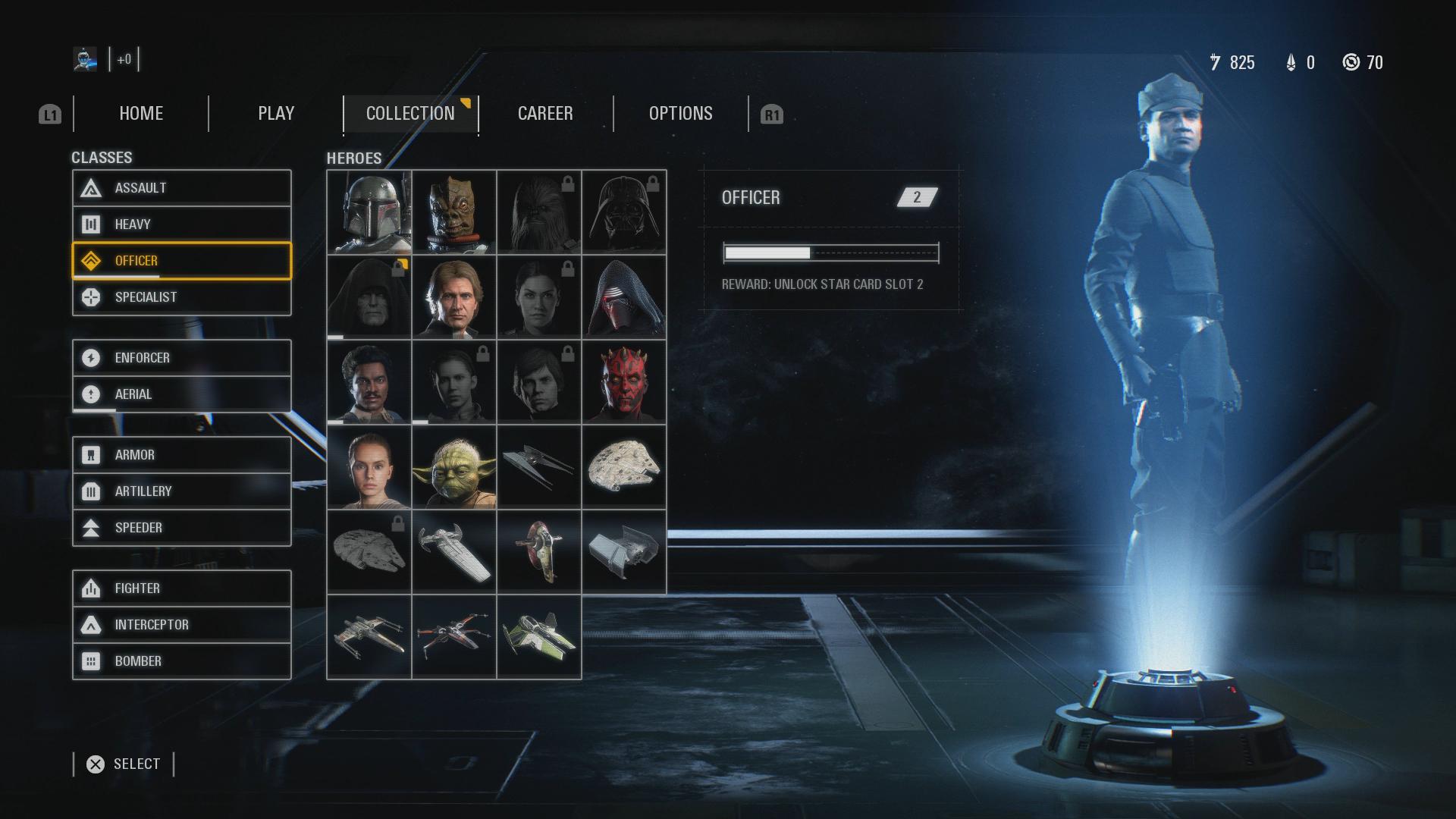 Star Wars Battlefront 2 angespielt: Sammeln ihr sollt ... - Nach und nach bekommen wir immer mehr der Sammelobjekte. (Bild: EA/Screenshot: Golem.de)
