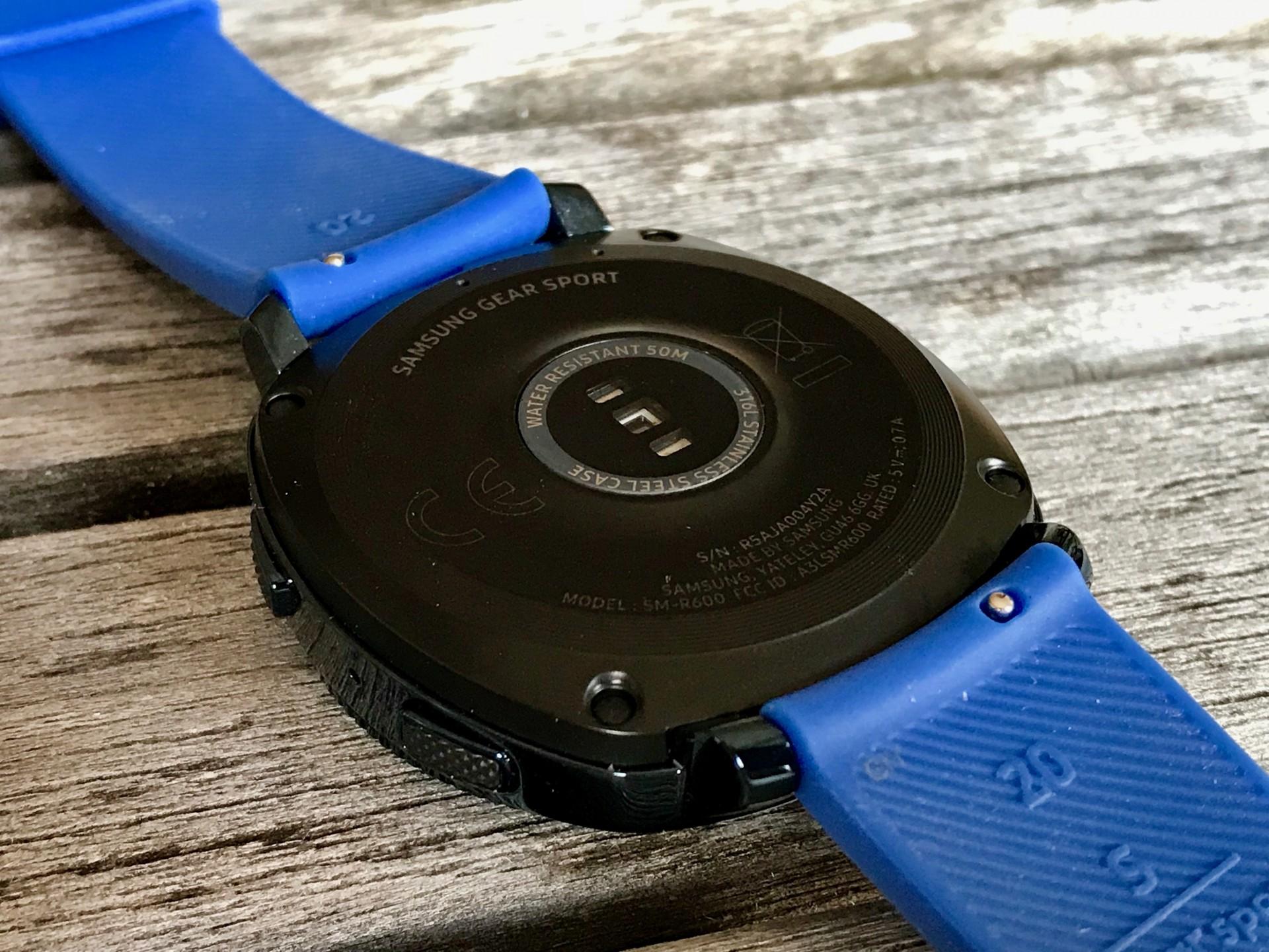Samsung Gear Sport im Test: Die schlaue Sportuhr -
